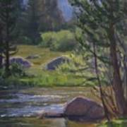 Morning View- Rock Creek Art Print