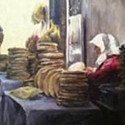 Moroccan Breadmaker Art Print