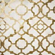Moroccan Gold I Art Print