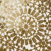 Moroccan Gold II Art Print