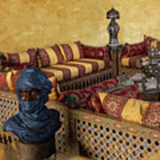 Moroccan Room Art Print