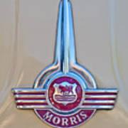 Morris Hood Emblem Art Print