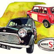 Morris Mini Cooper S Art Print