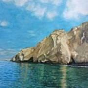 Morro Ballena North Of Chile Art Print