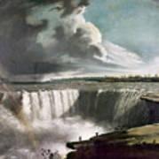 Morse: Niagara Falls, 1835 Art Print
