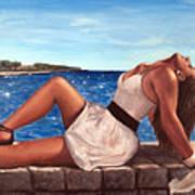 Morska Vila Art Print