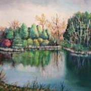 Morton Arboretum No.2 Art Print