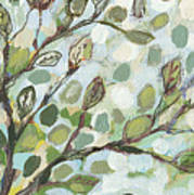 Mo's Chickadees Art Print