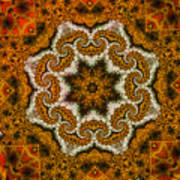Mosaic Antigua Art Print