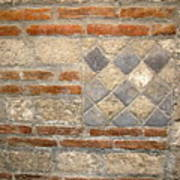 Mosaic From Pompeii Art Print
