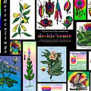 Mosaic Of Retrocollage II Art Print