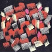 Mosaics Multicolor Art Print