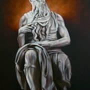 Moses Art Print by Grant Kosh