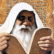 Moses - Lgmss Art Print