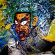 Moses Rap-part II-work In Progress Art Print