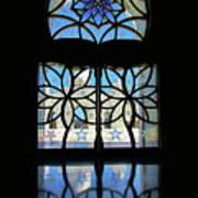 Mosque Foyer Window 2 Art Print