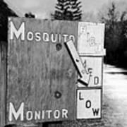 Mosquito Monitor Art Print
