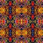 Mostique Tile Art Print