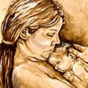 Mother And Child IIi Art Print