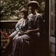 Mother And Child. Johannes Hendrikus Antonius Maria Lutz, 1907 - 1916 Art Print