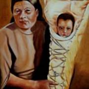 Mother And Son Art Print by Joni McPherson