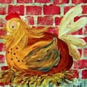 Mother Hen Art Print