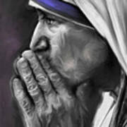 Mother Teresa Of Calcutta Art Print