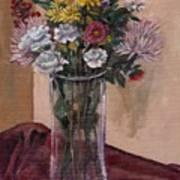 Mother's Day Bouquet Art Print by Elizabeth Lane