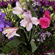 Mothers Day Bouquet Art Print