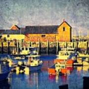 Motif No. 1 - Sunset Digital Art Oil Print Art Print