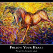 Motivational Horsea Art Print