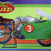 Moto Guzzi V8 Art Print