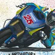 Motogp - Maverick Full Gas  Art Print