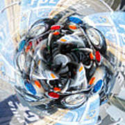 Motorcycle Mixup Art Print