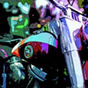 Motorcycle Poster IIi Art Print