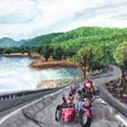 Motorcycle Ride Art Print