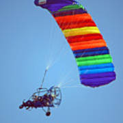 Motorized Parasail 2 Art Print