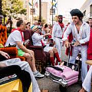 Motorized Recliners And Elvis - Nola Art Print