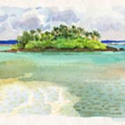 Motu Taakoka Art Print
