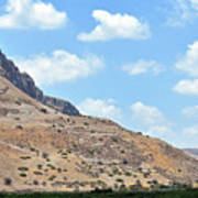 Mount Arbel 5 Art Print