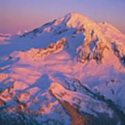 Mount Baker At Sunset Art Print