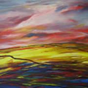 Mount Callan Sunlight Art Print