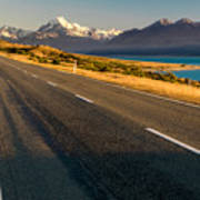 Mount Cook Road Art Print