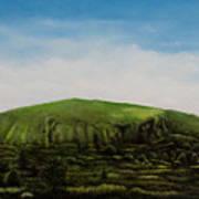Mount Coolum Art Print