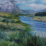 Mount Errigal Co. Donegal Ireland. 2016 Art Print