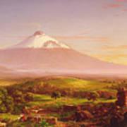 Mount Etna Art Print