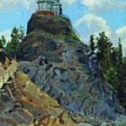 Mount Grace 1890 Apollinaris M Vasnetsov Art Print