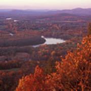 Mount Holyoke Foliage Art Print