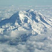 Mount Hood From Above Art Print
