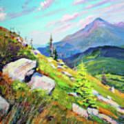 Mount Hoverla Art Print